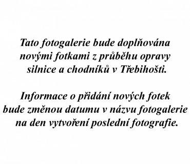 Oprava silnice a chodníků v Třebihošti 8.5.-17.6.2019