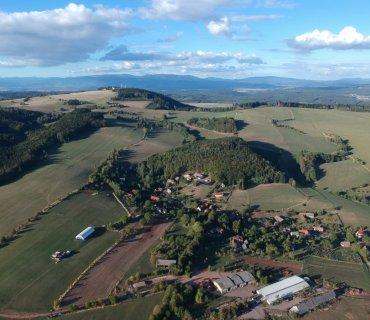 Záběry z dronu